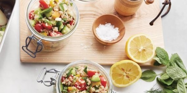 Martha Stewart's Chopped Vegetable Tabbouleh