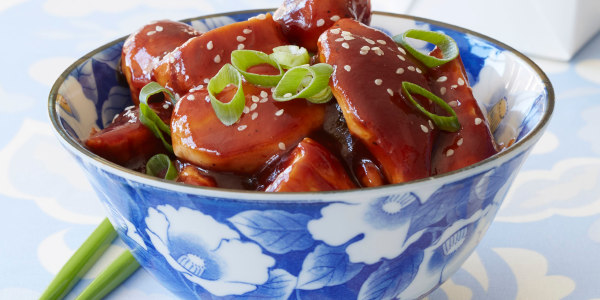 Joy's Low-Calorie General Tso's Chicken