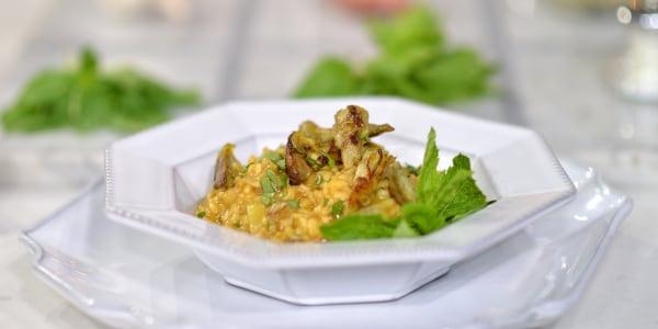 Giada's Artichoke Risotto