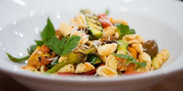 Curtis Stone's Orecchiette with Grilled Zucchini and Tomato