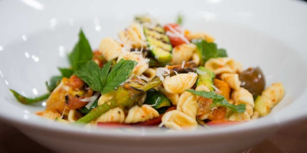Curtis Stone's Orecchiette with Grilled Zucchini and Tomato