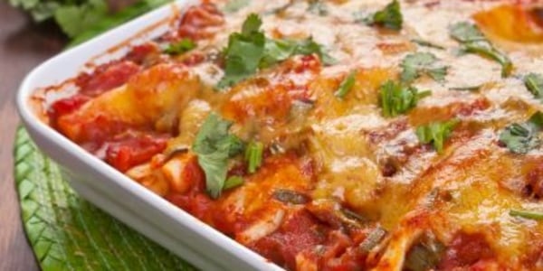 Joy Bauer's Low-Calorie Chicken Enchiladas