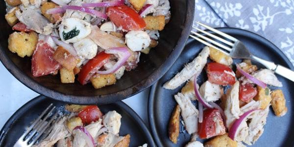 Roast Chicken Panzanella