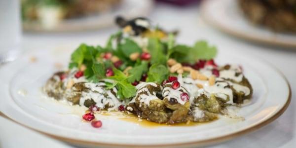 Za'atar, Sumac and Lemon Grilled Chicken with Eggplant and Tahini