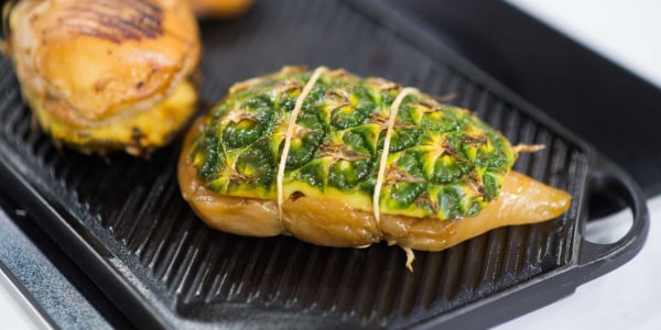 Grilled Pineapple Chicken Breasts