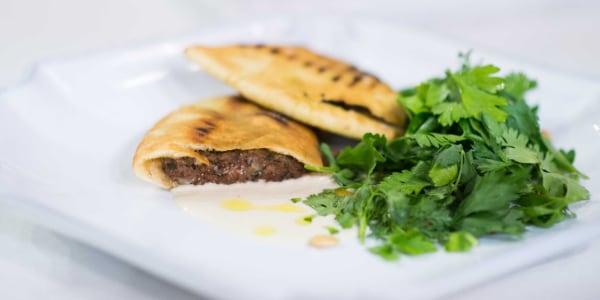 Pita Stuffed with Meat (Arayes)