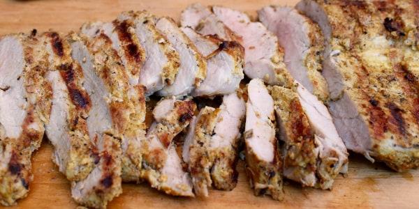 5-Ingredient Curried Pork Tenderloin