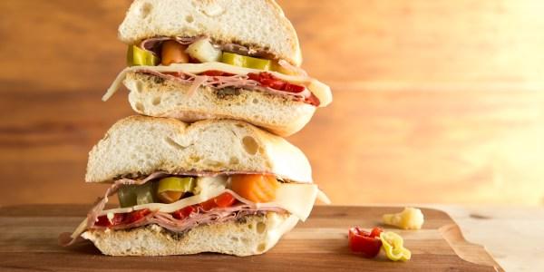 Modern Muffaletta Sandwich