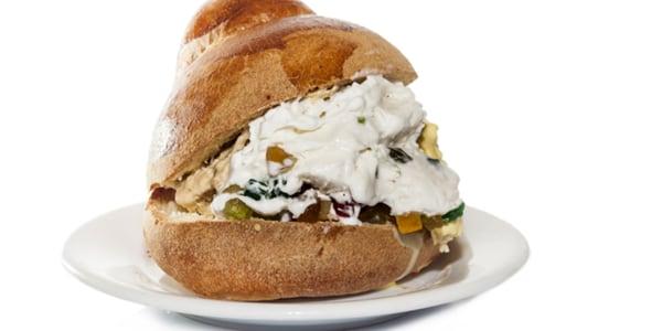 Sicilian Ice Cream Sandwich