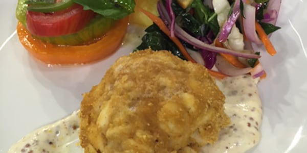Cornflake-Crusted All-Crabmeat Crab Cakes