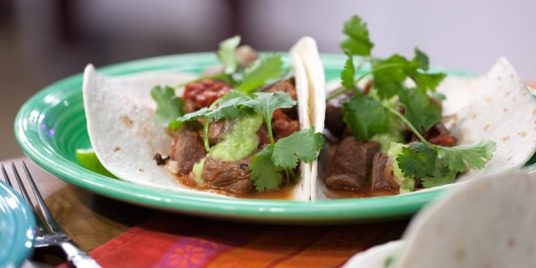 Bricklayer Tacos with Beef and Bacon