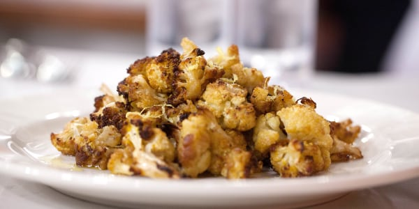 Lemon-Maple Cauliflower