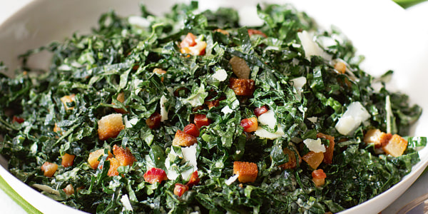 Ina Garten's Kale Salad with Pancetta and Pecorino