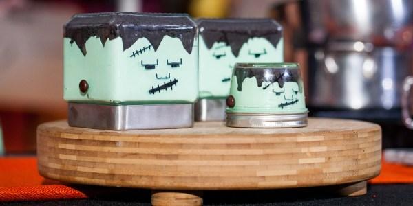 Frankenstein Cheesecakes