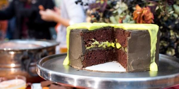 Gooey Slime Cake