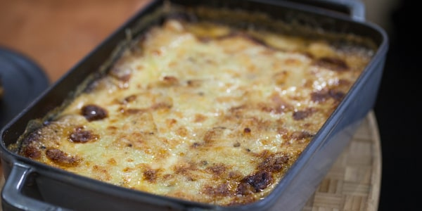 Yukon Gold Potato and Cheese Gratin