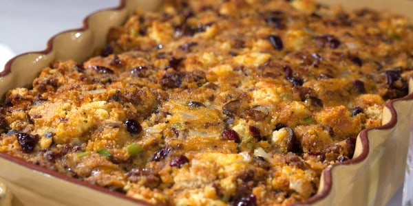 Al Roker's Sausage and Chestnut Cornbread Stuffing