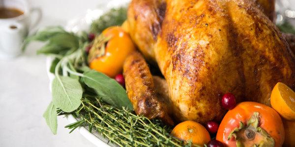 Roast Turkey with Sage Brown-Butter Gravy