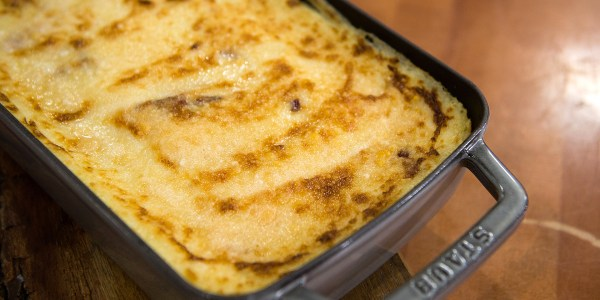 Baked Mashed Potatoes with Bacon