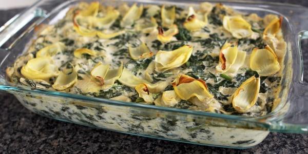 Spinach Artichoke Dip with Crudités