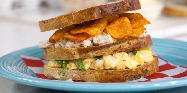 Mama Guarnaschelli's Double Decker Sandwich
