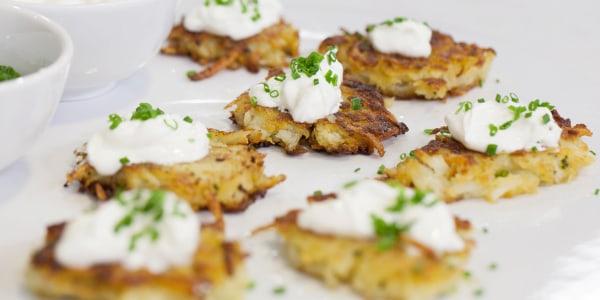 Ina Garten's Perfect Potato Pancakes