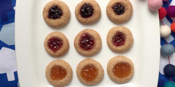 Snickerdoodle Thumbprint Cookies