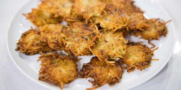 Gail Simmons's Mom's Potato Pancakes (Hanukkah Latkes)