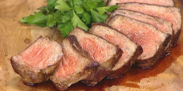 Roasted Dry Aged Sirloin Steak
