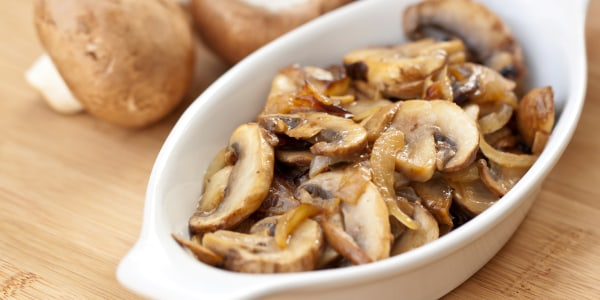 Wild Mushrooms with Bacon