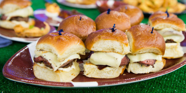 Roast Beef Burger Sliders