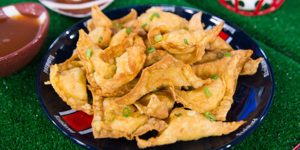 Lobster Rangoon (Lobster Wontons)
