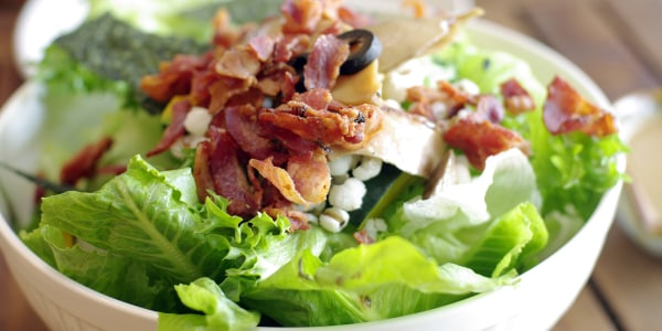 Boston Lettuce with Bacon Dressing