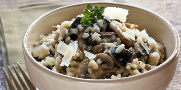 Mushroom Risotto with Truffles