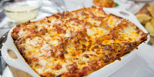 Al Roker's Vegetable Lasagna