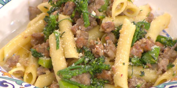Penne with Sausage and Broccolini