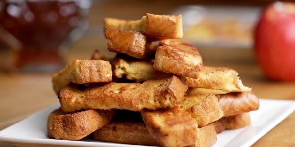 Freezable French Toast Sticks Recipe