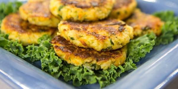 Siri Daly's Rice and Veggie Cakes