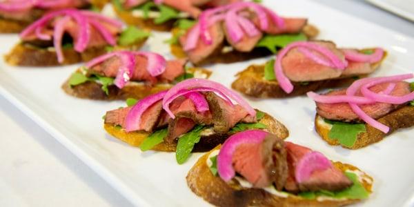 Siri Daly's Steak Toasts