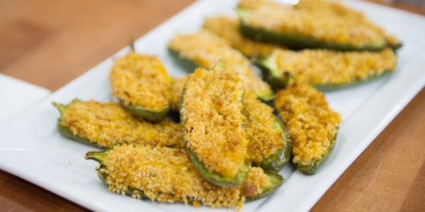 Spicy Hummus Poppers