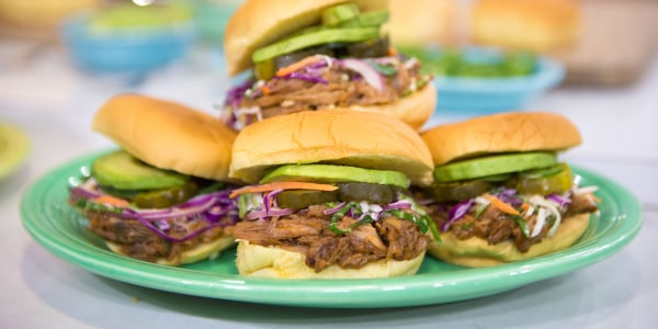 Siri Daly's slow cooker pulled pork