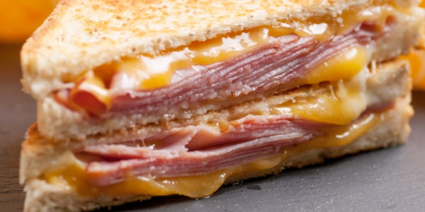 Jeff Mauro's Perfect Grilled Cheese with Ham