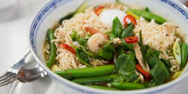 Korean Late-Night Noodles