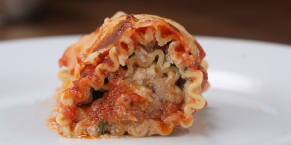 Make-Ahead Lasagna Roll-Ups