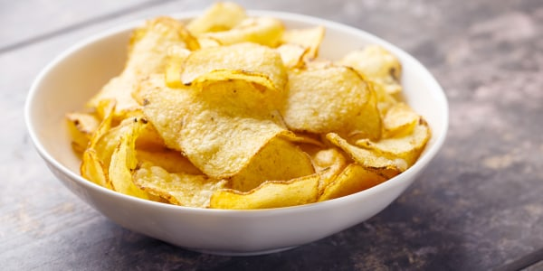 Homemade Sea Salt & Vinegar Chips