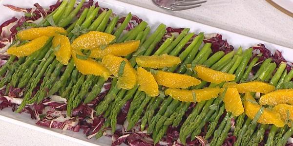 Asparagus Salad with Orange Vinaigrette