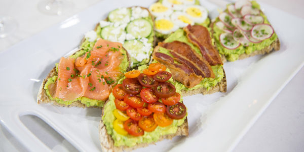 DIY Avocado Toast Bar