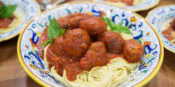 Vinny Guadagnino's Spaghetti and Meatballs