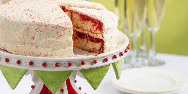 Patti LaBelle's Red Velvet Marble Cake with Boiled Frosting