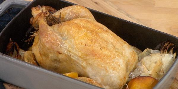 Roasted Chicken Five Ways